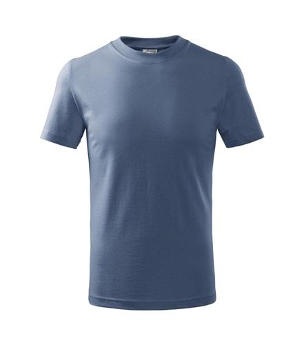 Dětské tričko Basic Adler - Denim | 122 (6 let)