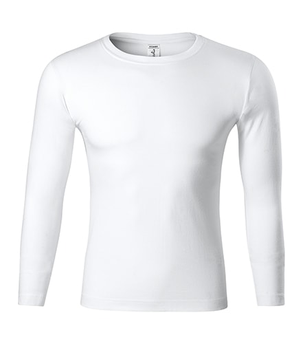Tričko s dlouhým rukávem Progress LS - Bílá | M