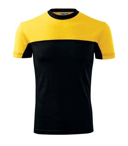 Barevné tričko Adler Colormix - Žlutá | XL