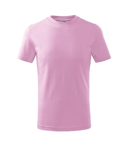 Dětské tričko Basic Adler - Růžová | 158 (12 let)