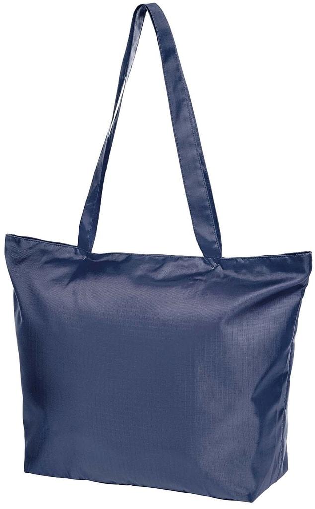 Skládací nákupní taška STORE - Tmavě modrá