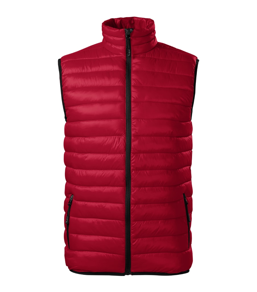 Pánská prošívaná vesta Everest - Jasná červená   S