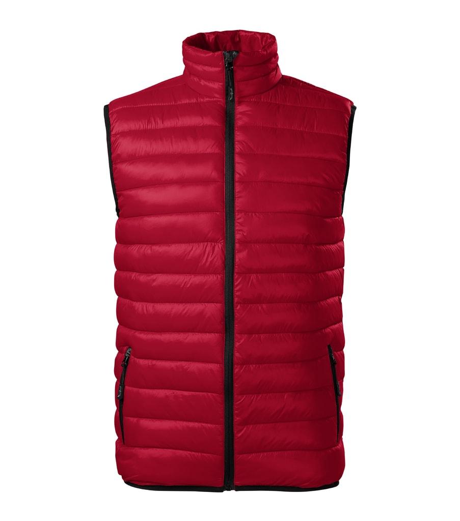 Pánská vesta Everest - Jasná červená | XXL
