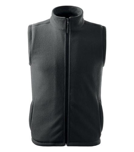 Fleecová vesta Adler - Ocelově šedá | XS