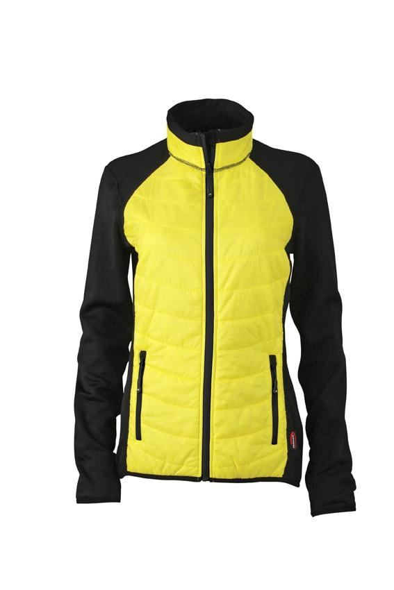 ... Dámska športová bunda JN592 Čierna   žltá   čierna b3fe7be8ffc