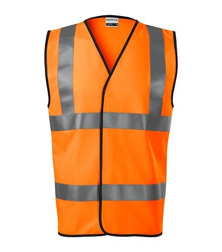 Bezpečnostní vesta HV Bright - Reflexní oranžová | XXL