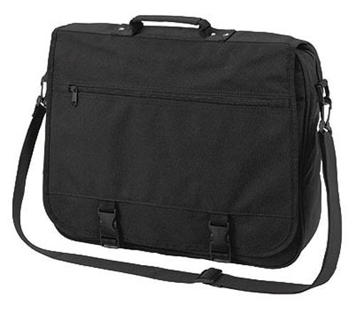 Velká taška přes rameno BUSINESS - Černá