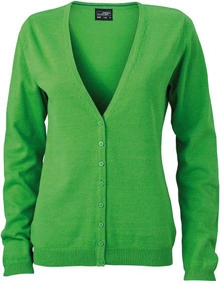 Dámský bavlněný svetr JN660 - Zelená | XXL