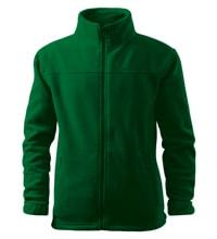 Dětská fleecová mikina Jacket - Lahvově zelená | 110 (4 roky)