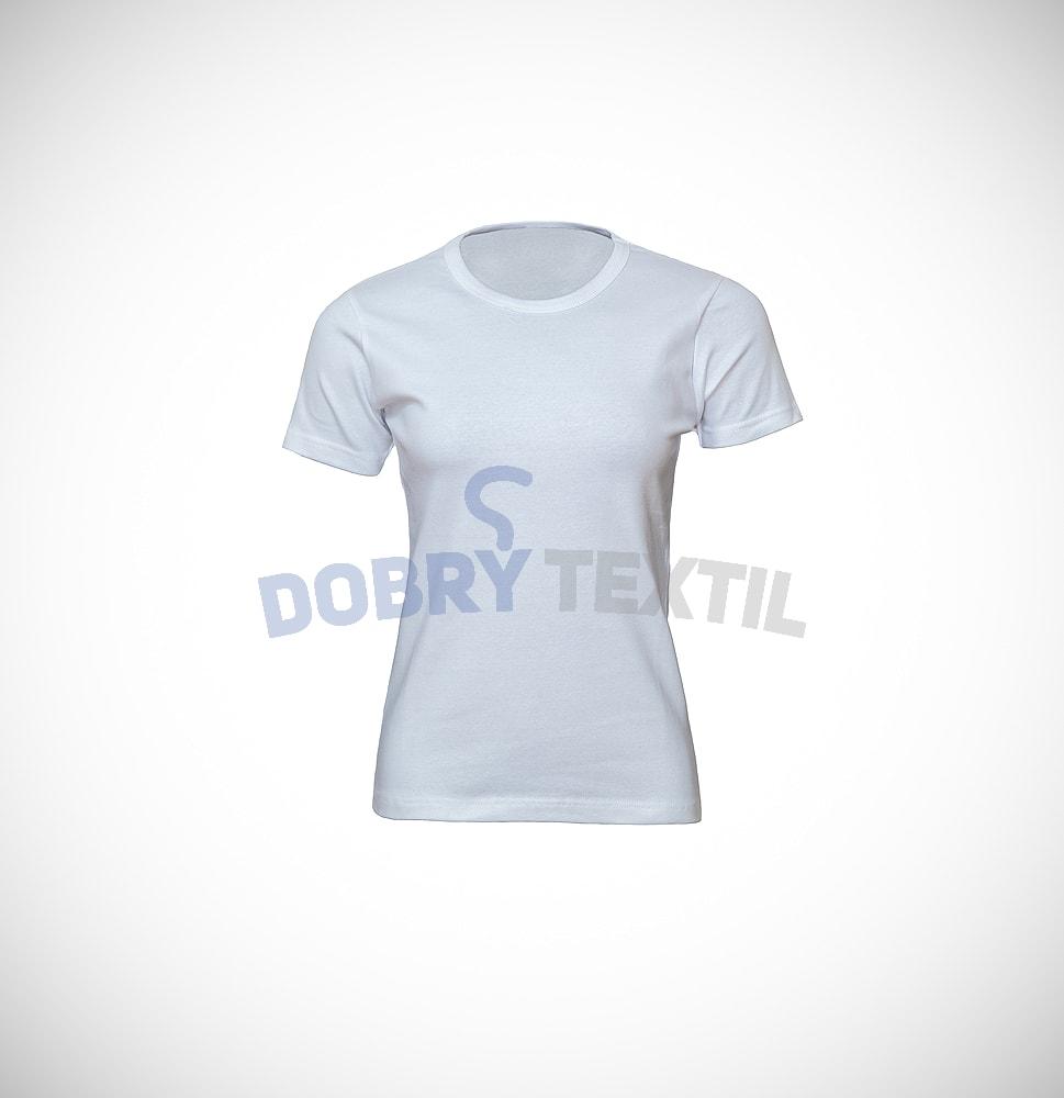 Dámské tričko ELAST - Bílá | XL