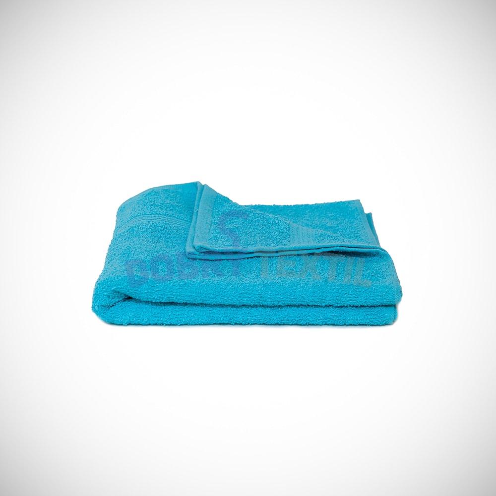 Reklamní ručník 50x100 - Akvamarínová | 50 x 100 cm