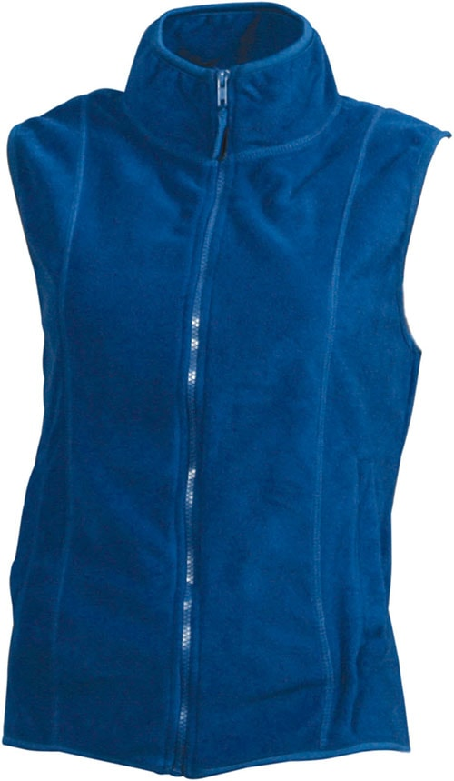 Dámská fleecová vesta JN048 - Královská modrá | S