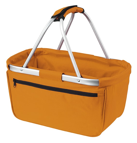 Nákupní košík BASKET - Oranžová