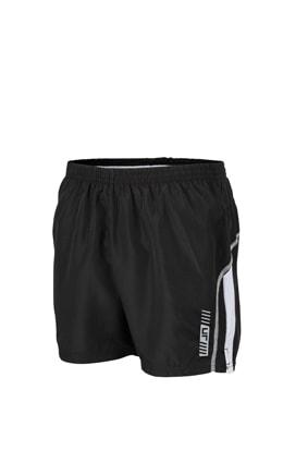 Pánské běžecké šortky JN488 - Černá / bílá | M