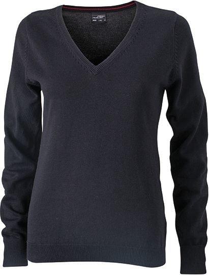 Dámský bavlněný svetr JN658 - Černá | XS