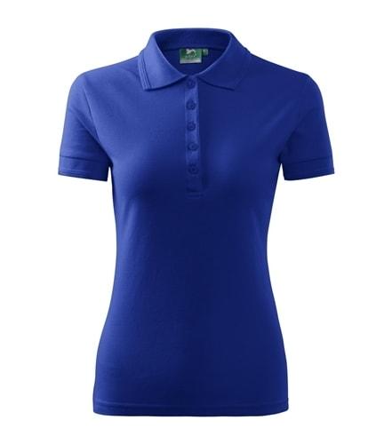 Dámská polokošile Pique Polo - Královská modrá | XL