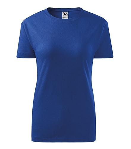 Dámské tričko Classic New - Královská modrá | XXL