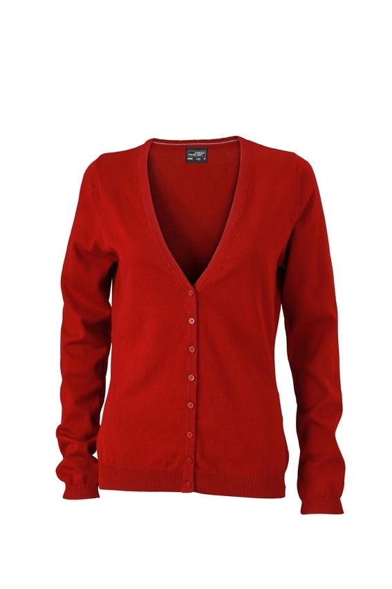 Dámský bavlněný svetr JN660 - Bordeaux | XS