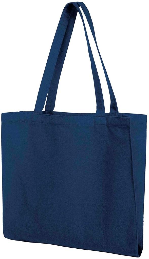 Bavlněná nákupní taška MALL - Tmavě modrá