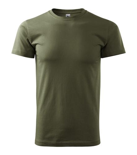 Pánské tričko HEAVY - Military | XL