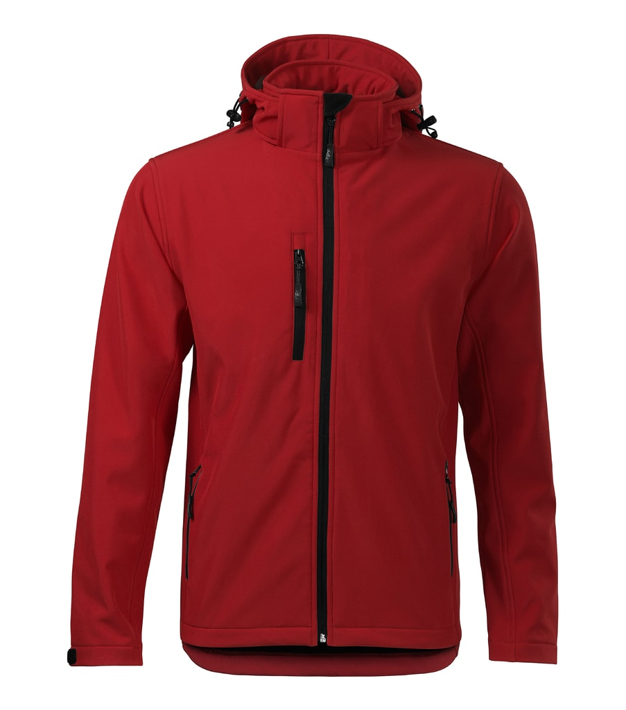Pánská softshellová bunda Performance - Červená | XL