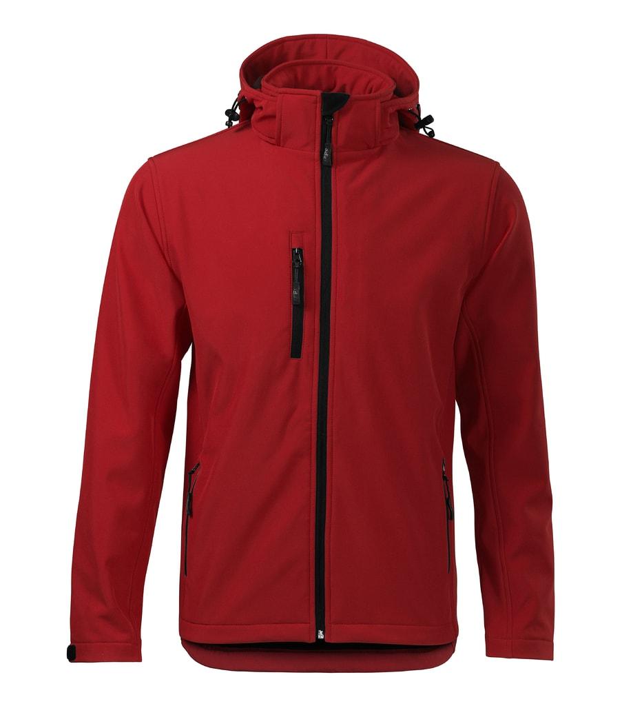 Pánská softshellová bunda Performance - Červená | XXXL