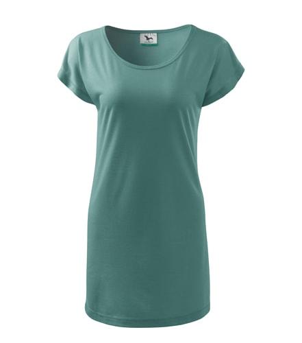 Dámské dlouhé tričko - Wasabi zelená | L