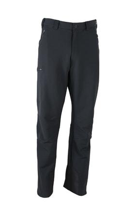 Pánské elastické outdoorové kalhoty JN585 - Černá | XXL