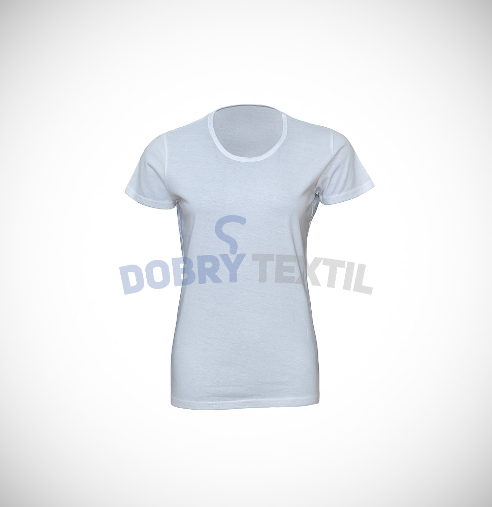 Dámské tričko SLIM - Bílá | XL
