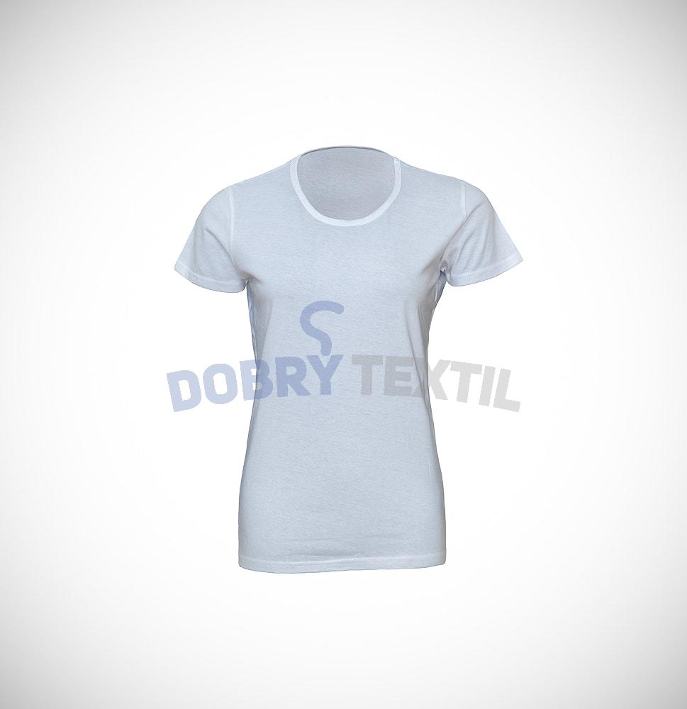 Dámské tričko SLIM - Bílá | XXL