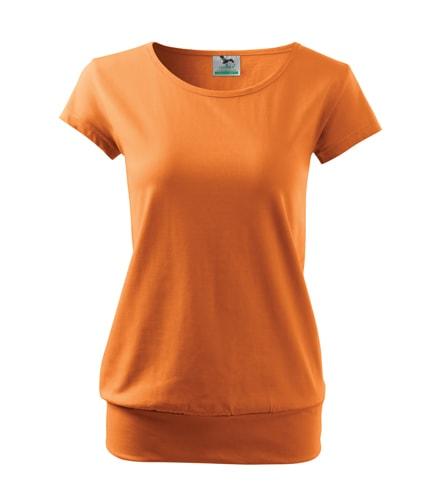 Dámské volné tričko City  4cc222e962