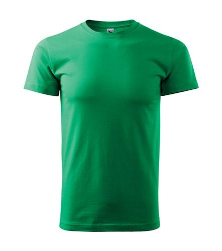 Pánské tričko HEAVY - Středně zelená | XXL