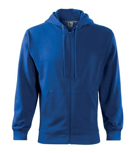 Pánská mikina Trendy Zipper - Královská modrá | XL