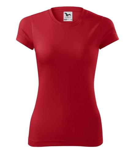 Dámské sportovní tričko Adler Fantasy - Červená | XS