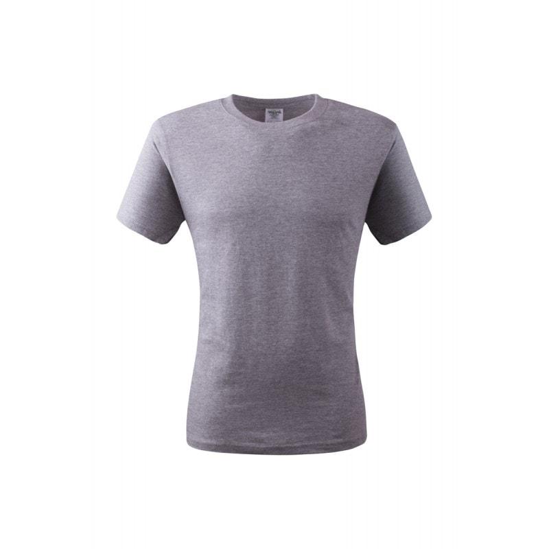 Pánské tričko ECONOMY - Šedý melír | L