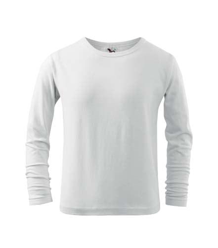 Dětské tričko s dlouhým rukávem - Bílá | 134 (8 let)