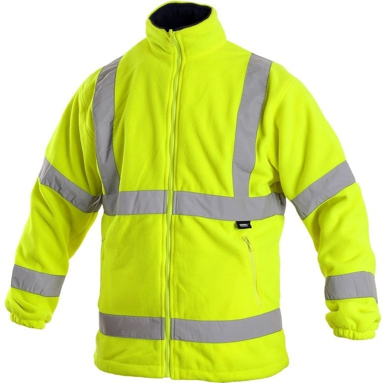 Pánská výstražná bunda PRESTON - Žlutá | M
