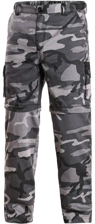 cc602694fc6 Pánské maskáčové kalhoty šedé 2v1 CXS VENATOR - 44