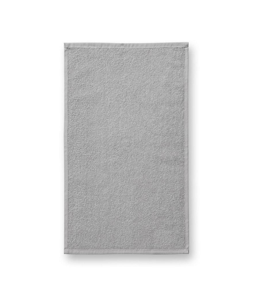 Ručník Terry Hand Towel - Světle šedá | 30 x 50 cm