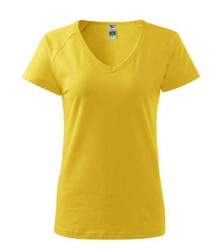 Dámské tričko Dream - Žlutá | L