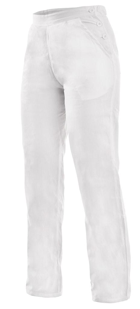 Dámské bílé pracovní kalhoty DARJA 190 - 40