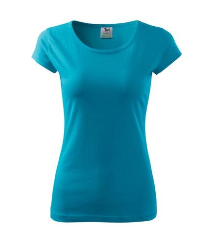Dámské tričko Pure - Tyrkysová | M