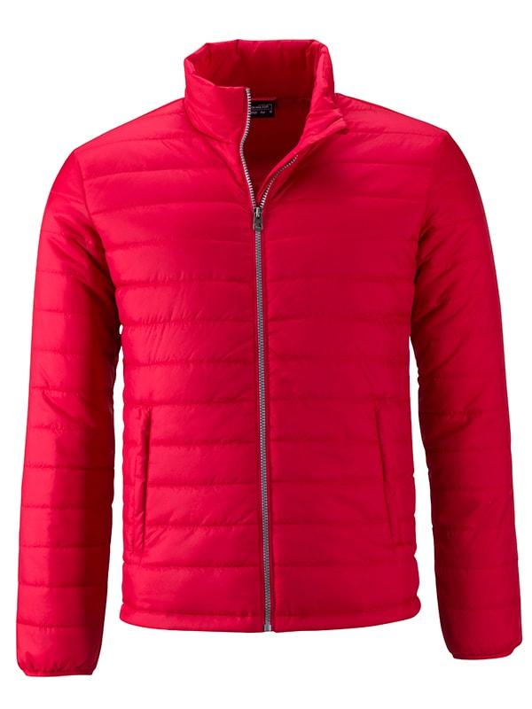 Pánská jarní bunda JN1120 - Červená | S
