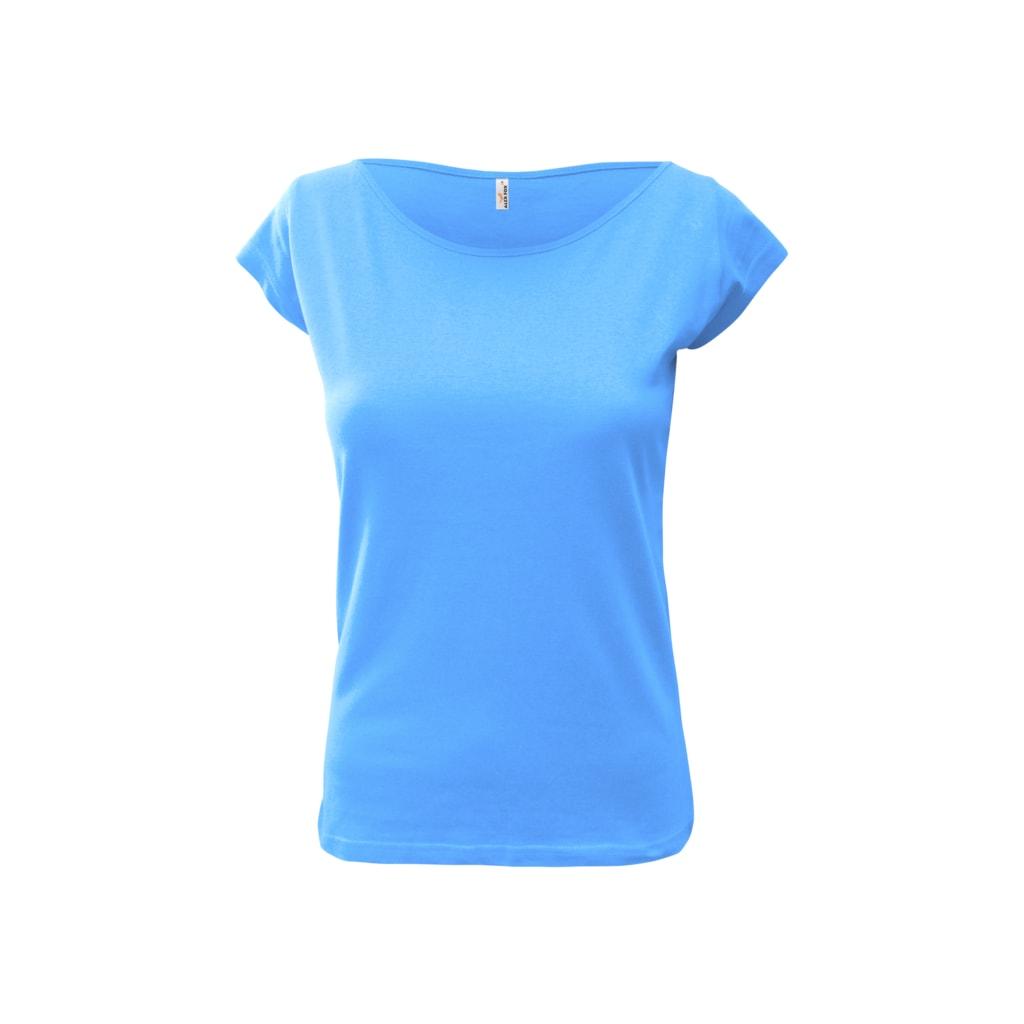 Dámské tričko Elegance - Světle modrá   L