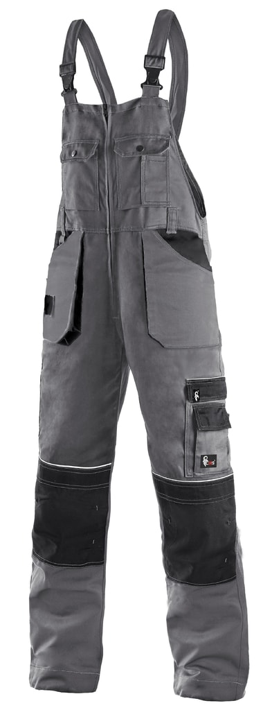 Zimní pracovní kalhoty s laclem ORION KRYŠTOF - 58