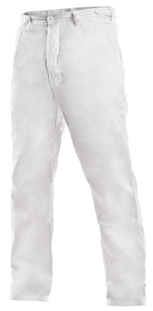 Pánské bílé pracovní kalhoty ARTUR - 64