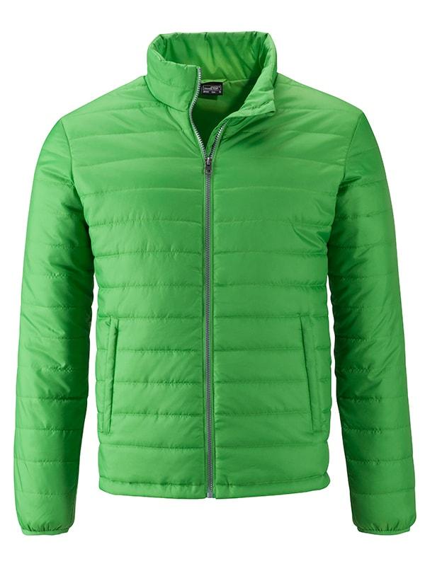 Pánská jarní bunda JN1120 - Zelená | S