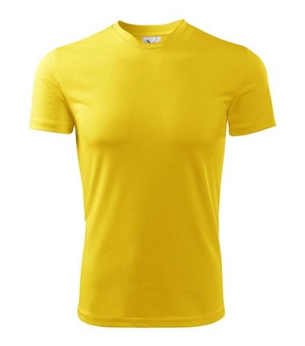 Pánské sportovní tričko Adler Fantasy - Žlutá | XL