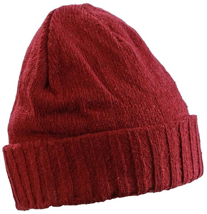 a25a6cd997b Zimní čepice MB7979 - Tmavě červená