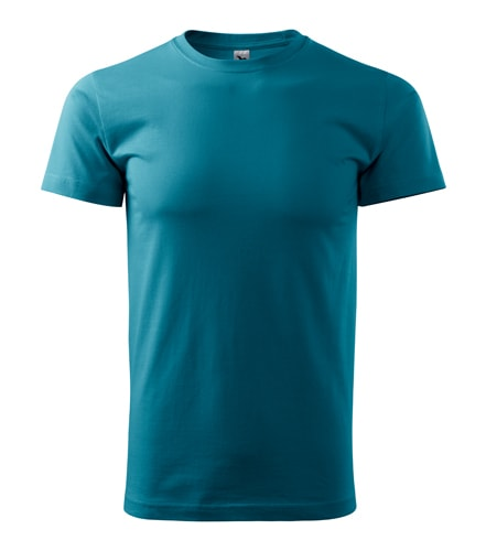 Pánské tričko HEAVY - Tmavý tyrkys | XXL